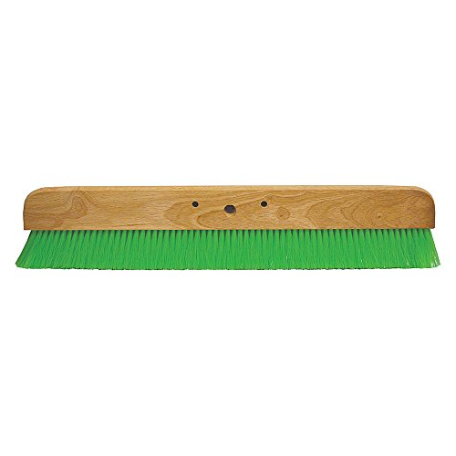 Concrete Finishing Broom, 36 in. L, Wood