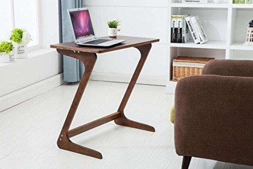 sofa table tv tray super top laptop desk removable side snack end table for bed sofa eating. Black Bedroom Furniture Sets. Home Design Ideas