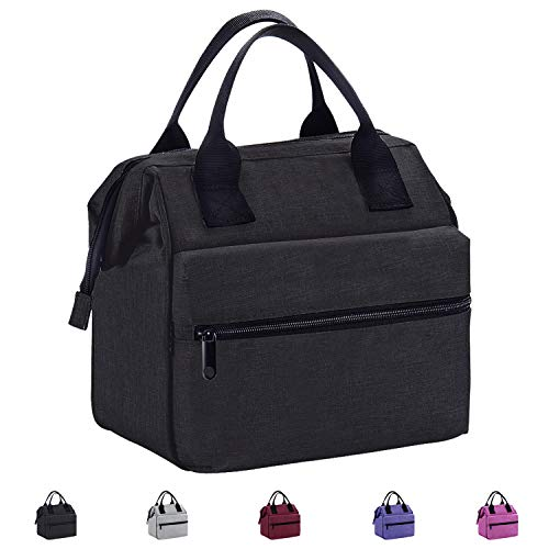 lated Lunch Bag For Men and Women Meal Prep Lunch Tote Boxes ()