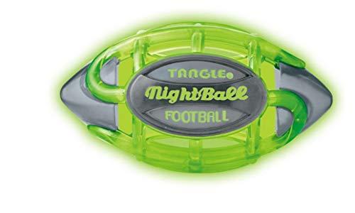 New TANGLE NIGHTBALL Football - Small(Green/Grey)]()