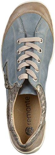25 Mujeres R3403 De 14 De Remonte Zapatos Cigarro steel antique royal wqPX4a