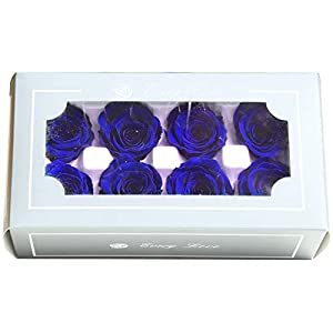 Yooha Artificial Rose, Romantic Rose Head Soap Artificial Flower in Gift Box for Valentines Day Anniversary (6) 1