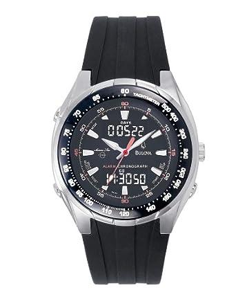 Amazon.com: Bulova de los hombres 98 C69 Marino Star Reloj ...