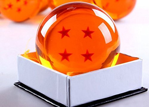 Mxnpolar Dragonball Z Cosplay Replica Crystal Ball Large Size 4 Stars