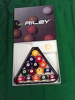 Rosetta Riley Aramith 17/20,3cm striées Boules de Billard, Triangle 3cm striées Boules de Billard