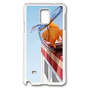 iCustomonline Goldfish In The Water Case for Samsung Galaxy Note 4 PC White