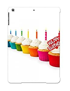 MWwNrWx2510GAHuv New Premium Flip Case Cover Happy Birthday Cupcakes Skin Case For Ipad Air As Christmas's Gift