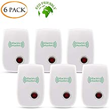 VEPOWER [2018 Upgraded] Ultrasonic Pest Repeller, Electrical Bug Repellent, Non-toxic Pest Repellent Plug in Indoor Outdoor Pest Control Mosquito Spider Ant Mice Roach other Insect (6 packs)