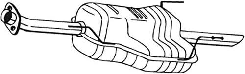 Bosal 185 441 Endschalldämpfer Auto