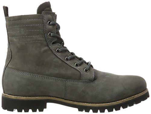 Blackstone Herren Om71 Biker Boots Grau (Graphite)