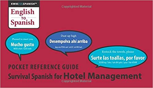 Survival Spanish for Hotel Management: Ed Rosheim, Cheryl Rosheim: 9781599756417: Amazon.com: Books