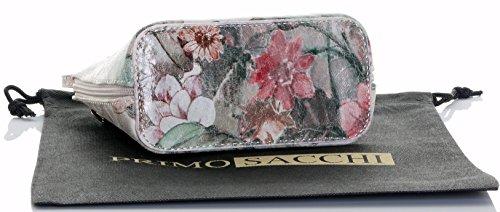 In borsa borsa italiana custodia di a croce o borsetta Vintage nbsp;Include pelle tracolla una marca Floral Micro Small corpo protettiva YrqYBzn
