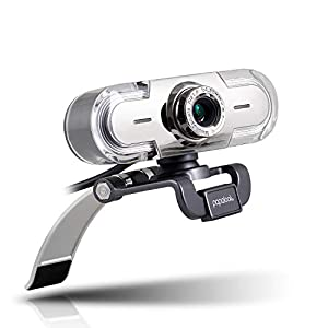 Webcam 1080P, PAPALOOK PA452 Full HD Web Caméra pour Appels Vidéo, Microphone Intégré, Mise au Point Manuelle, Vue de 65…
