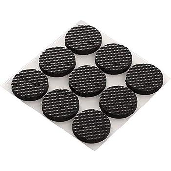 Premium Furniture Pads Thick Non Slip Rubber No Glue Or