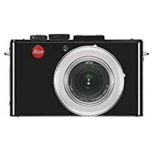 Leica D-Lux 6 Digital Camera, 10.1MP, 3.8x Optical/4x Digital Zoom, 1080p Video, f/1.4-2.3 Lens, Glossy Black / Silver
