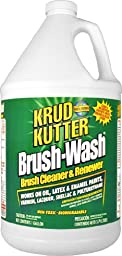 Krud Kutter BW01 Clear Brush-Wash Cleaner and Renewer with Mild Odor, 1 Gallon