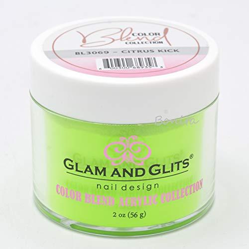 Glam & Glits Dipping Powder Color Blend Collection BL3069 Citrus Kick 2 oz