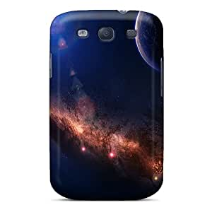 Hot Around The World Space First Grade Phone Cases For Galaxy S3 Cases Covers