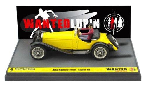 1/43 アルファロメオ 1750 ドライビング ルパン アクションフィギュア付き 「ルパン三世 WANTED」 L08