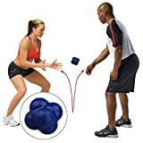 Anstorematealliance Sports&Entertainment Fitness Equipments Product Hexagonal Reaction Ball Quickness and Agility Training Ball, Training Hand and Eye Coordination(Green) (Color : Blue)