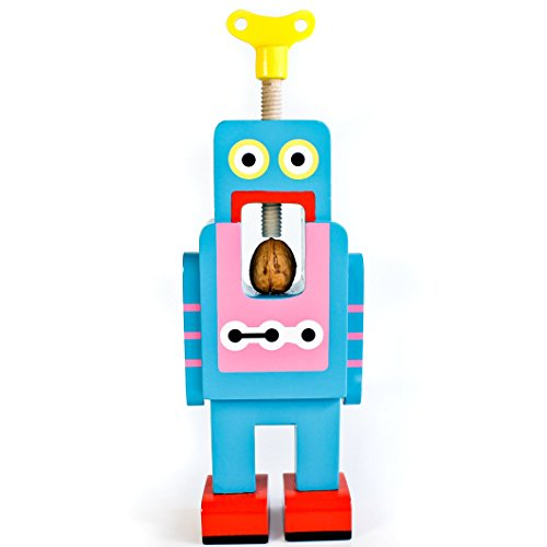 SUCK UK Robot Nut Cracker, Large Blue Suck Uk Key