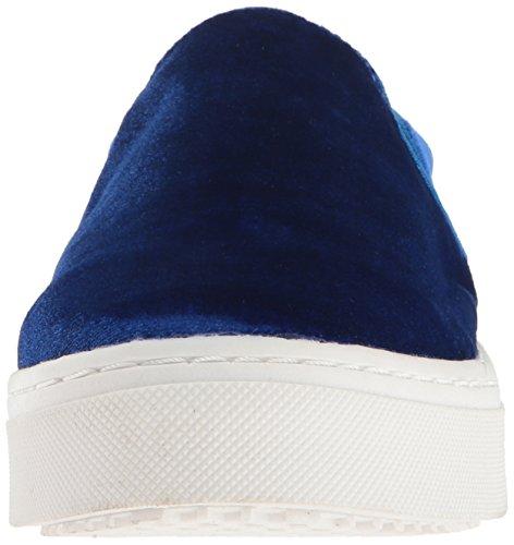 Blue Lacey Sneaker Women's Edelman Fashion Sam Velvet wvqBAxc