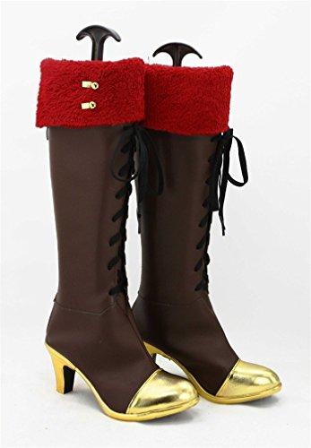 Bromeo LoveLive! Love Live Happy Valentine's Day! Kousaka Honoka Cosplay Schuhe Stiefel Stiefeletten