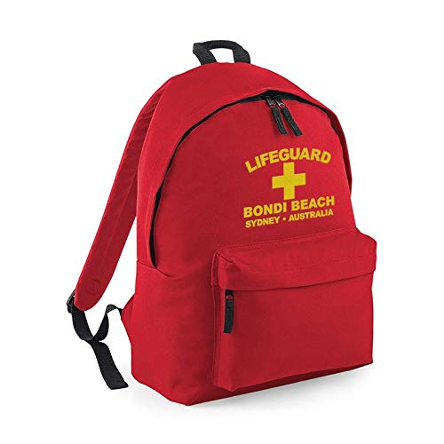 Lifeguard Bag Bondi Beach Australia Rucksack Backpack Holiday