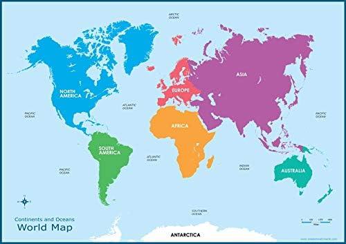 continents carte
