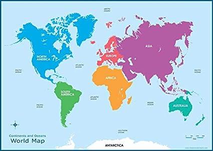 Carte Du Monde Continents.La Sagesse Media Carte Du Monde Continents Pour Enfants