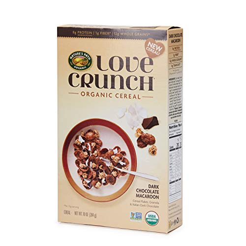 runch Organic Cereal, Dark Chocolate Macaroon, 6 Count ()