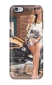 For Iphone 6 Plus Fashion Design Girls And Motorcycles Case-oabfgyb2475BMoJN