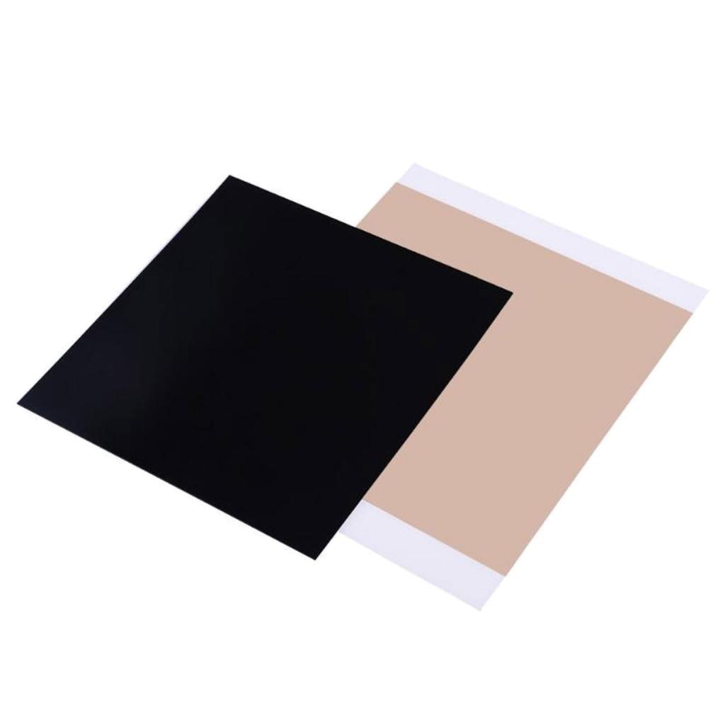 Gazechimp 300 * 300 * 0, 8 PEI Blatt Mit 468MP Klebstoff Fü r 3D-Drucker Teile & Zubehö r