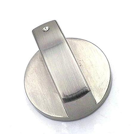 prezzo accessibile rilasciare informazioni su l'atteggiamento migliore Payonr - Manopole per fornello a gas, 6 mm, in metallo spazzolato ...