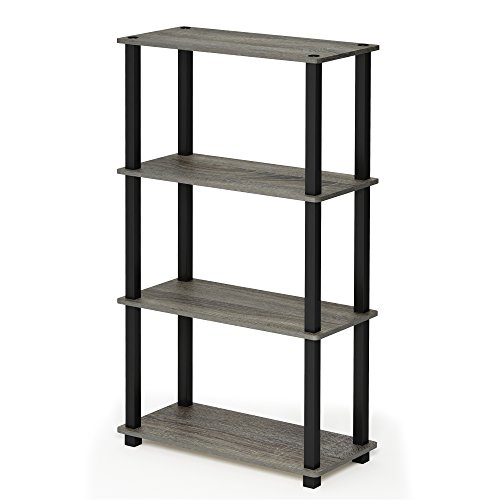 Furinno Turn-S-Tube 4 Compact Multipurpose Shelf Only $21.08 (Was $40.72)