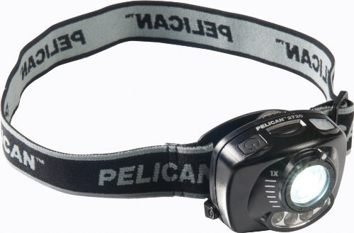 Pelican 2720 LED Headlamp with Gesture Activation Control 027200-0100-110