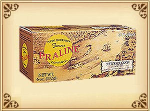 New Orleans Famous Praline - Box of 8 Original Pralinettes