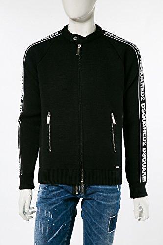 (ディースクエアード) DSQUARED2 セーター ニット ブラック メンズ (S74HA0875S16376) 【並行輸入品】 B07FQF3GXJ  ブラック L