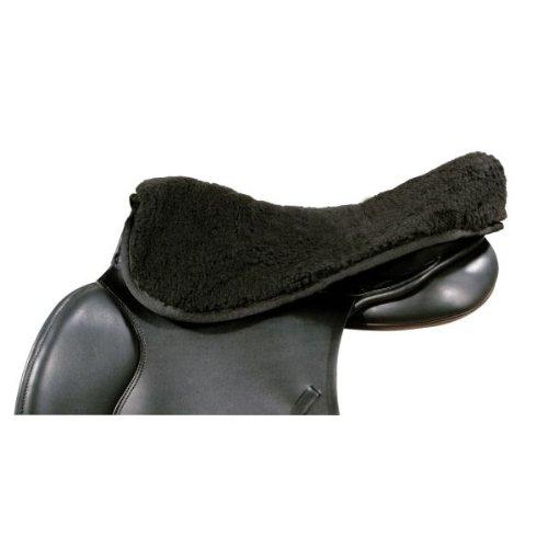 PFIFF Sattelsitzbezug, schwarz, Warmblut