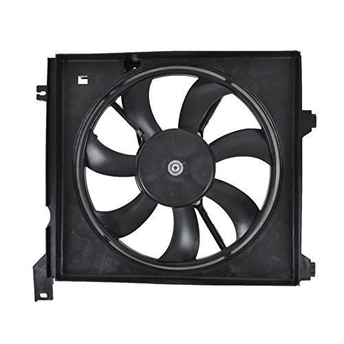 Radiator Cooling Fan Assembly Driver Side Left Hand LH for 04-09 Spectra 2.0L