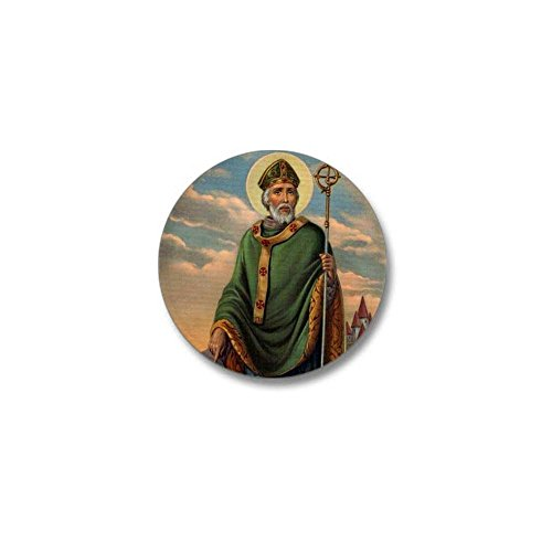 [CafePress - Saint Patrick Mini Button - 1