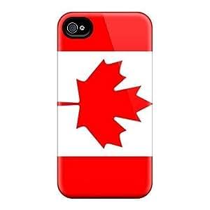 AbbyRoseBabiak Snap On Hard Cases Covers Canada Flag Protector For Iphone 6