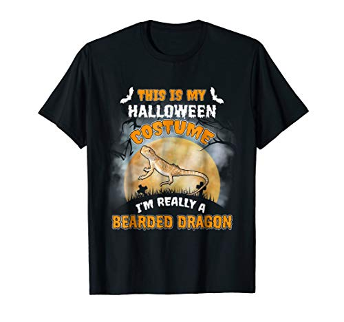 Bearded Dragon This Is My Halloween Costume Shirt -