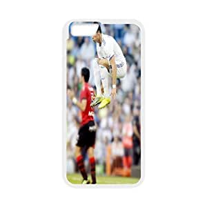 Cristiano Ronaldo IPhone 6 Plus Cases, Young Iphone 6 Plus Cases for Girls Tyquin {White}