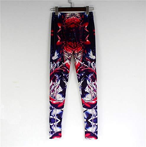 de multicolor mujer Abchic Legging 21 p5q6yv1x