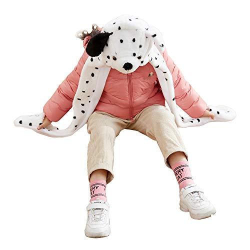 Funnie Dalmatian Bolt Animal Hats Gloves Scarf 3 in 1 Set Hood Toy]()