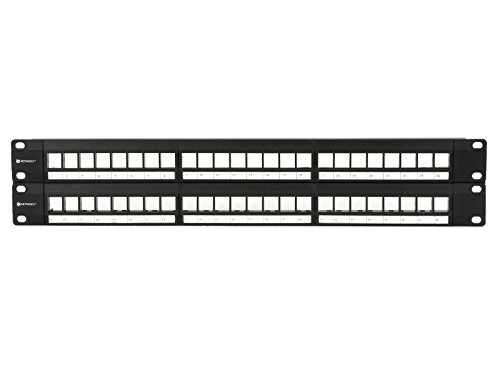 2U High-Density Blank Patch Panel - 48 Port