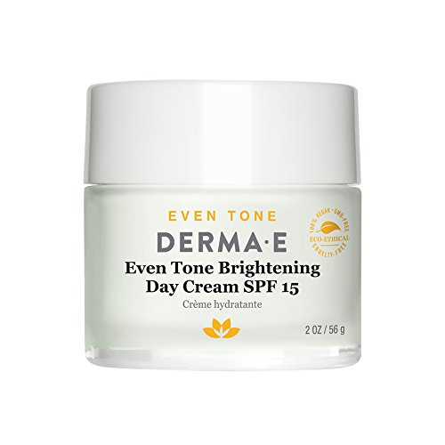 DERMA E Even Tone Brightening Day Cream SPF 15 with Vitamin C, ()