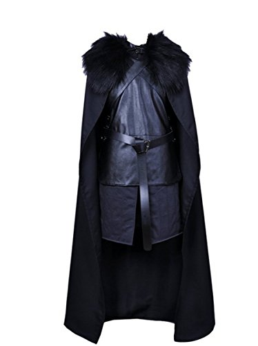 Anime Store Game of Thrones Jon Snow Knights Watch Cosplay Costume