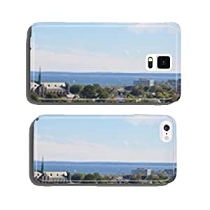 View of Stamford, Connecticut cell phone cover case Samsung S5